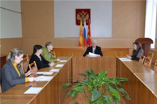 Состоялось заседание Общественного совета Алатырского района