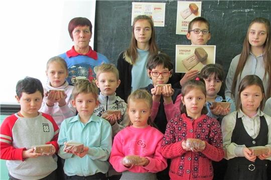 В Алатырском районе прошли Всероссийские Уроки памяти «Блокадный хлеб»