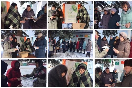 На территории Октябрьского сельского поселения прошла Всероссийская акция «Блокадный хлеб»
