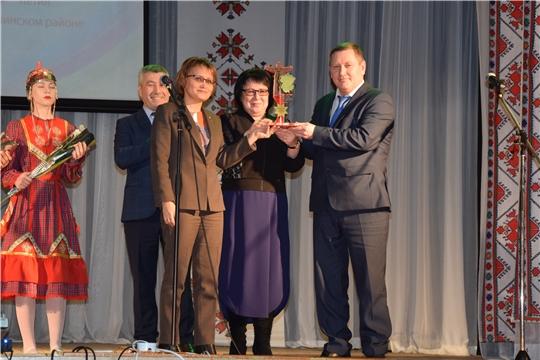 Алатырский район передал эстафету республиканского фестиваля муниципальных образований «Марафон 100 – летия»