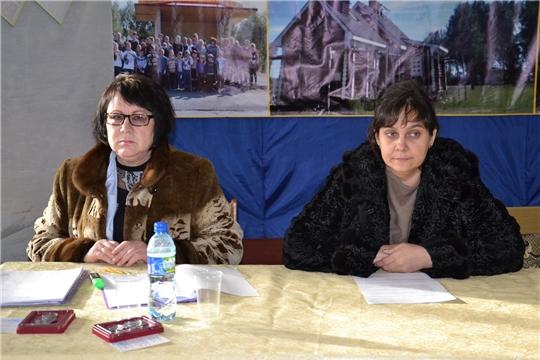 Главы Первомайского и Староайбесинского сельских поселений выступили на отчетных собраниях