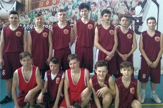 Баскетболисты района приняли участие в первенстве республики по баскетболу