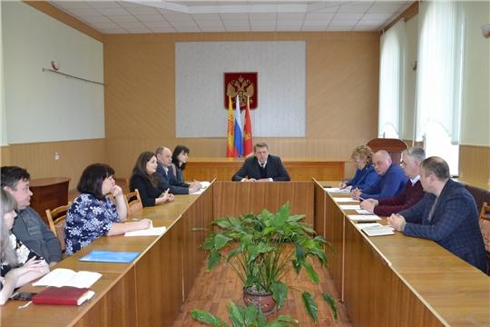 Заседание Антинаркотической комиссии Алатырского района