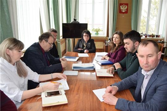 Заседание санитарно – противоэпидемической комиссии Алатырского района