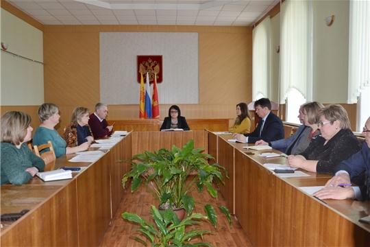 Совещание директоров общеобразовательных учреждений Алатырского района