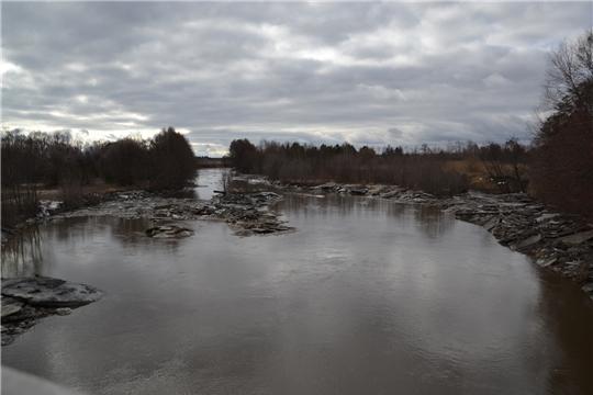 Проведен мониторинг уровня воды в р. Бездна