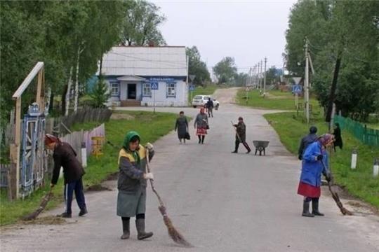 В Алатырском районе стартует месячник по санитарной-экологической уборке и благоустройству населенных пунктов