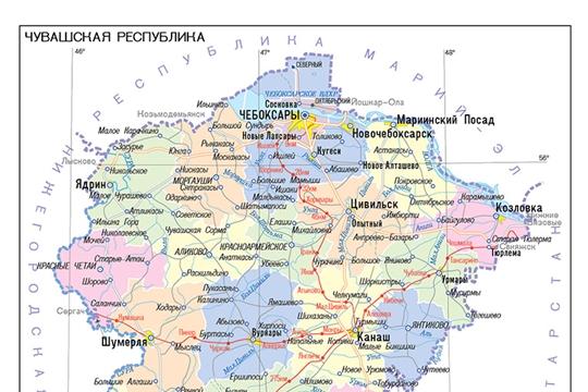 В ЕГРН содержится информация о 1713 границах населенных пунктов Чувашии