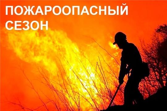 В Чувашии с 1 апреля установлен пожароопасный сезон, с 4 апреля – особый противопожарный режим