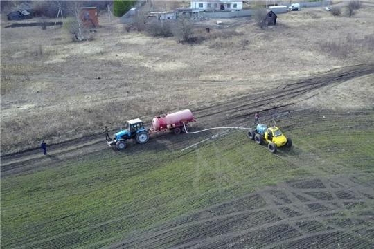 Весенне-полевые работы в Алатырском районе набирают обороты