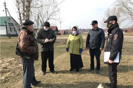 В Алатырском районе проходят рейдовые мероприятия по предупреждению распространения новой коронавирусной инфекции