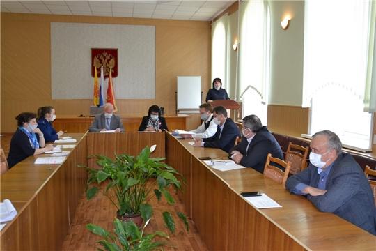В Алатырском районе состоялось очередное заседание Собрания депутатов