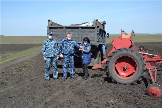 В Алатырском районе в разгаре весенне - полевые работы