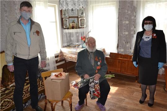 Глава администрации Алатырского района Нина Шпилевая поздравила ветеранов с 75-той годовщиной Победы в Великой Отечественной войне
