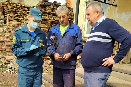 Профилактические рейды на сельскохозяйственных предприятиях города Алатыря и Алатырского района