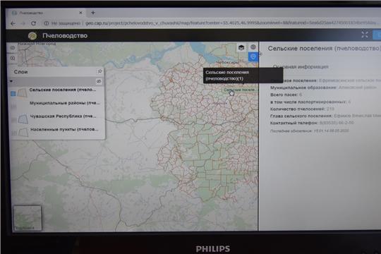 Интерактивная карта пчеловодства Чувашии поможет улучшить взаимодействие между сельхозпредприятиями и пчеловодами региона