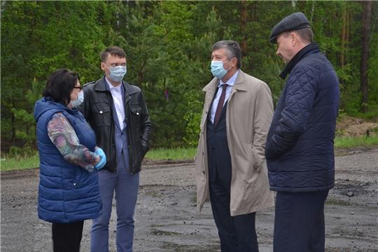 Рабочая поездка министра транспорта и дорожного хозяйства Чувашской Республики в Алатырский район