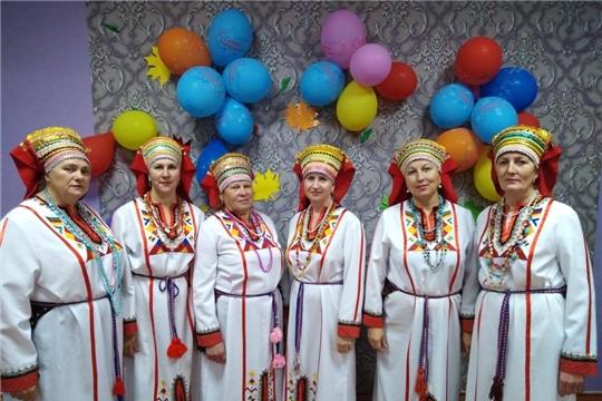 Народный фольклорный ансамбль «Лейне» принял участие во флешмобе  «Я в национальном костюме»