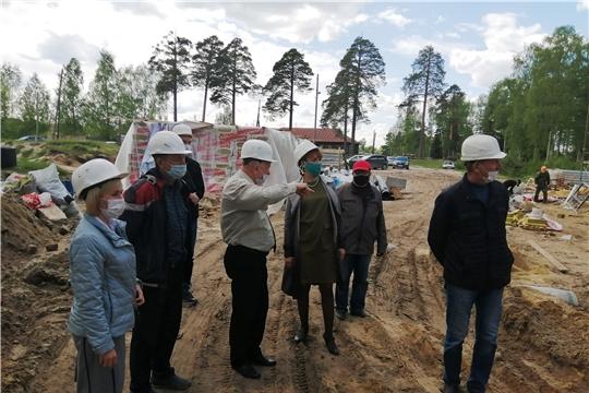 Министр труда Алена Елизарова посетила Алатырский район с рабочим визитом