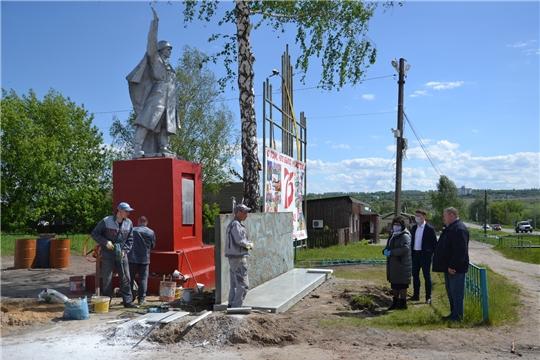 Глава администрации района ознакомилась с ходом реализации проектов, основанных на местных инициативах