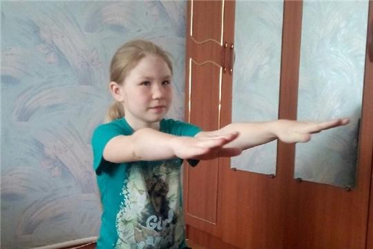Учащиеся школы дистанционно готовятся к заочным спортивным конкурсам