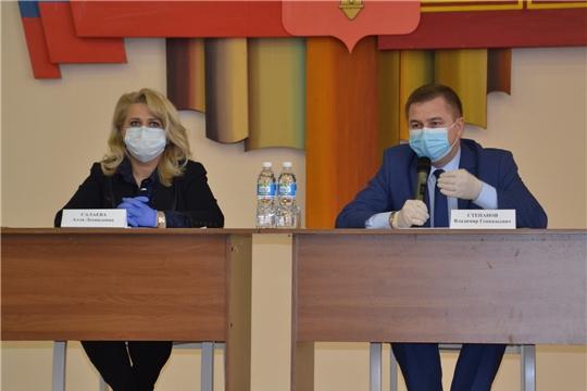 Рабочая группа оперштаба Чувашии по предупреждению распространения коронавируса выехала в Алатырь и Алатырский район