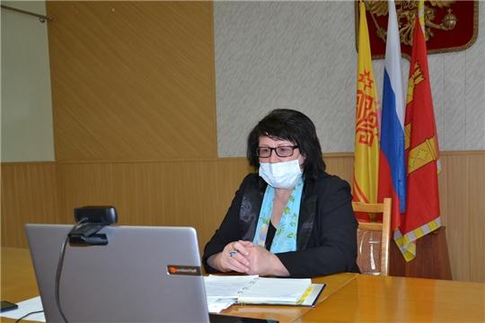 Состоялось очередное совещание с главами сельских поселений в режиме видеоконференции