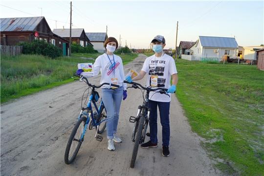 Молодежь Алатырского района присоединилась к акции «Добро в России»