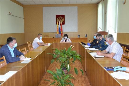 Состоялось заседание антитеррористической комиссии по подготовке к Общероссийскому голосованию по внесению изменений в Конституцию Российской Федерации