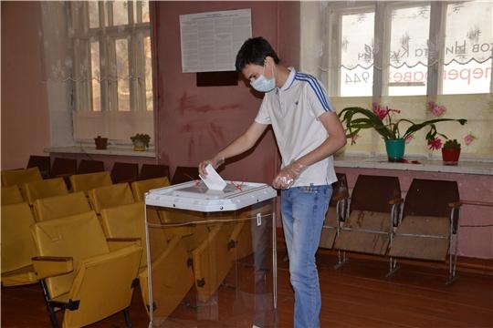 В Алатырском районе продолжается голосование по поправкам в Конституцию РФ