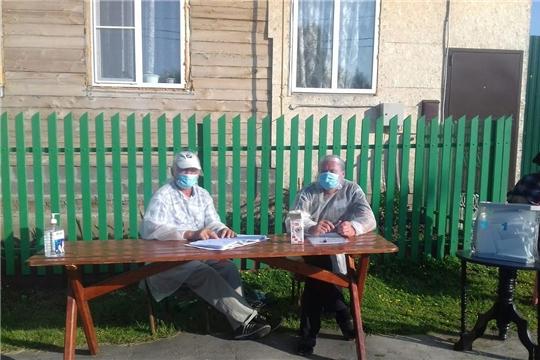 В Алатырском районе проходит голосование по поправкам в Конституцию Российской Федерации