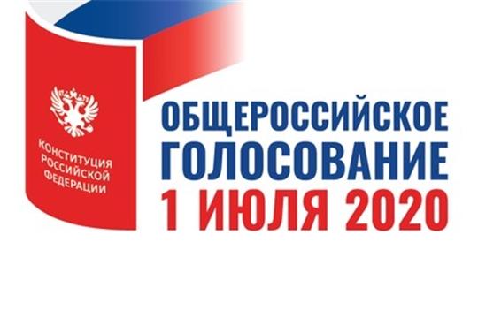 Избиратели Алатырского района проголосовали за поправки в Конституцию Российской Федерации