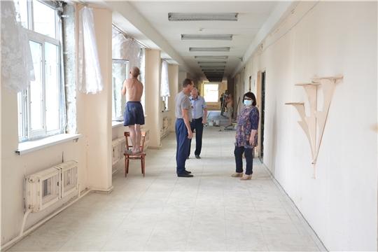 Капитальный ремонт МБОУ «Кирская СОШ»