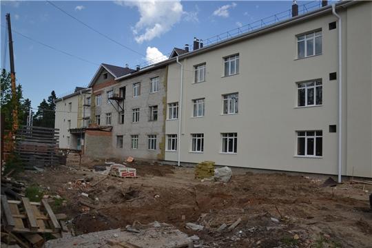 В поселке Киря Алатырского района проводится реконструкция социально - оздоровительного центра «Вега»