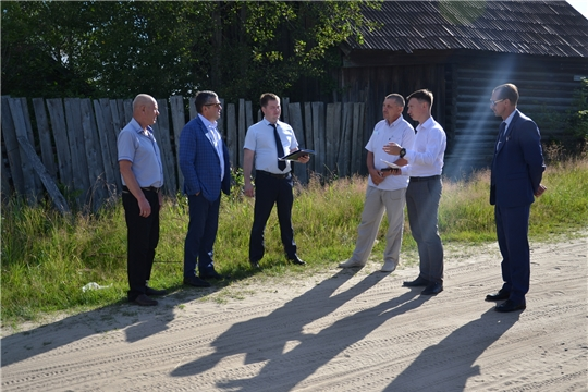 Рабочий визит Министра транспорта и дорожного хозяйства Чувашской Республики в Алатырский район