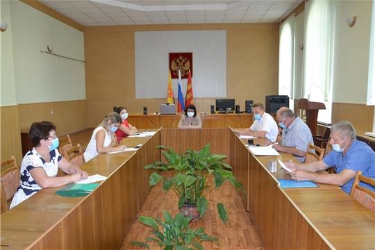 Совещание с главами сельских поселений Алатырского района