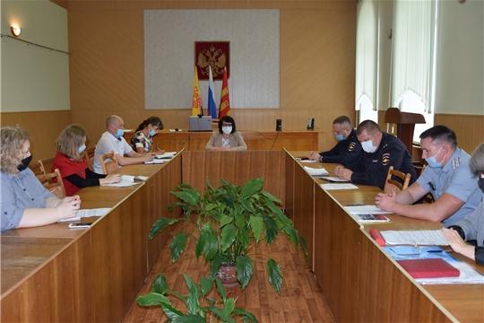 Заседание Комиссии по профилактике правонарушений в Алатырском районе