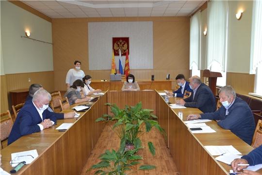 В администрации Алатырского района состоялось совещание с главами и специалистами сельских поселений