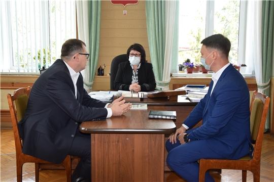 Алатырский район посетил руководитель Государственной жилищной инспекции Чувашской Республики Республики Виктор Кочетков