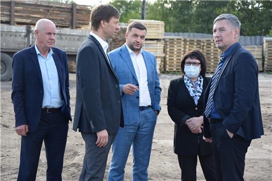 И.о. министра промышленности и энергетики Чувашской Республики Сергей Лекарев посетил Алатырский район