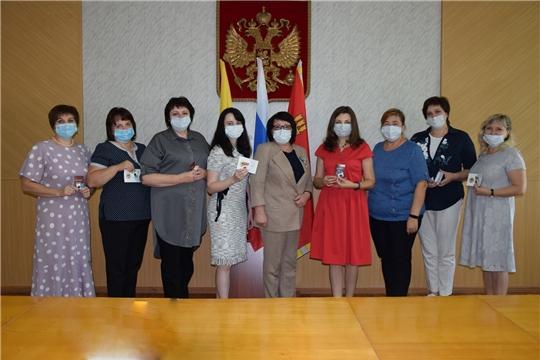 Кадровым работникам администрации района вручены знаки отличия ГТО
