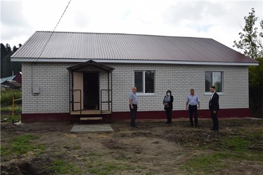 Построен дом для многодетной семьи в поселке Атрать