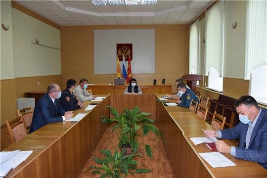 В Алатырском районе состоялось заседание антитеррористической комиссии