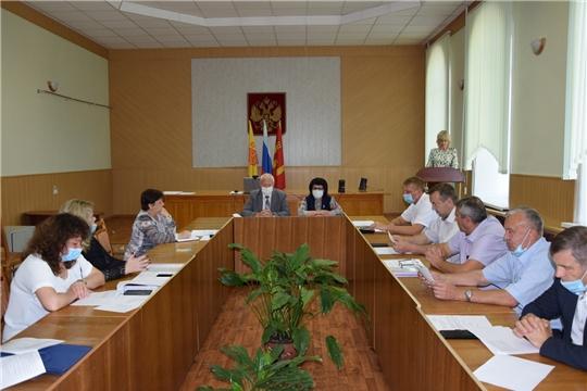 В Алатырском районе состоялось очередное Собрание депутатов шестого созыва
