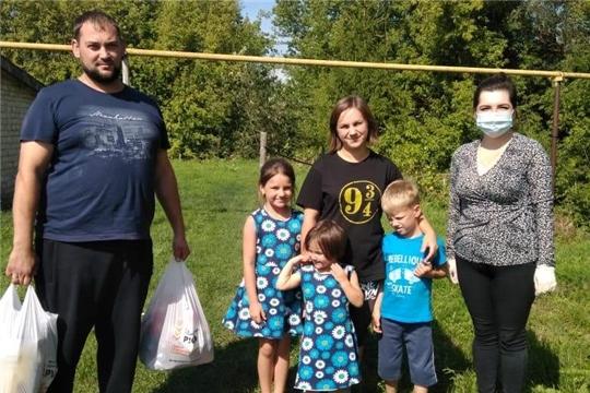 Благотворительная помощь многодетным семьям