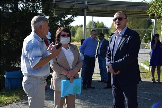 Алатырский район посетил министр физической культуры и спорта Чувашской Республики