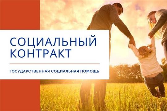 В городе Алатырь и Алатырском районе заключено 152 социальных контракта на оказание государственной социальной помощи малоимущим семьям