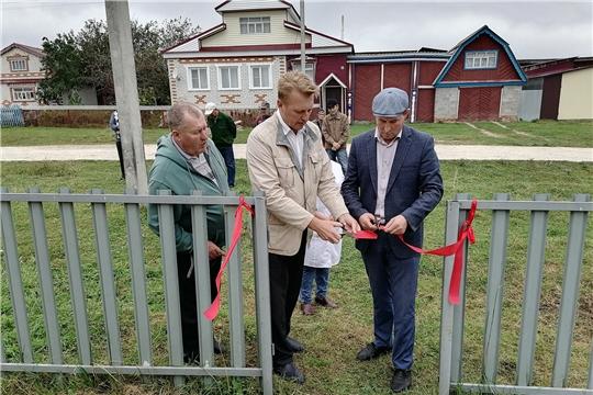 Открытие ветеринарного участка, расположенного в с. Старые Айбеси Алатырского района
