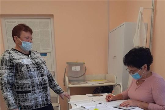 В Алатырском районе проходит голосование по выборам Главы Чувашской Республики и в органы местного самоуправления
