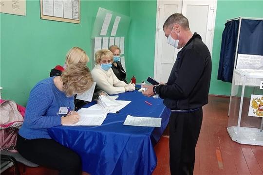 В Алатырском районе на 10 часов проголосовали 61,91 % избирателей